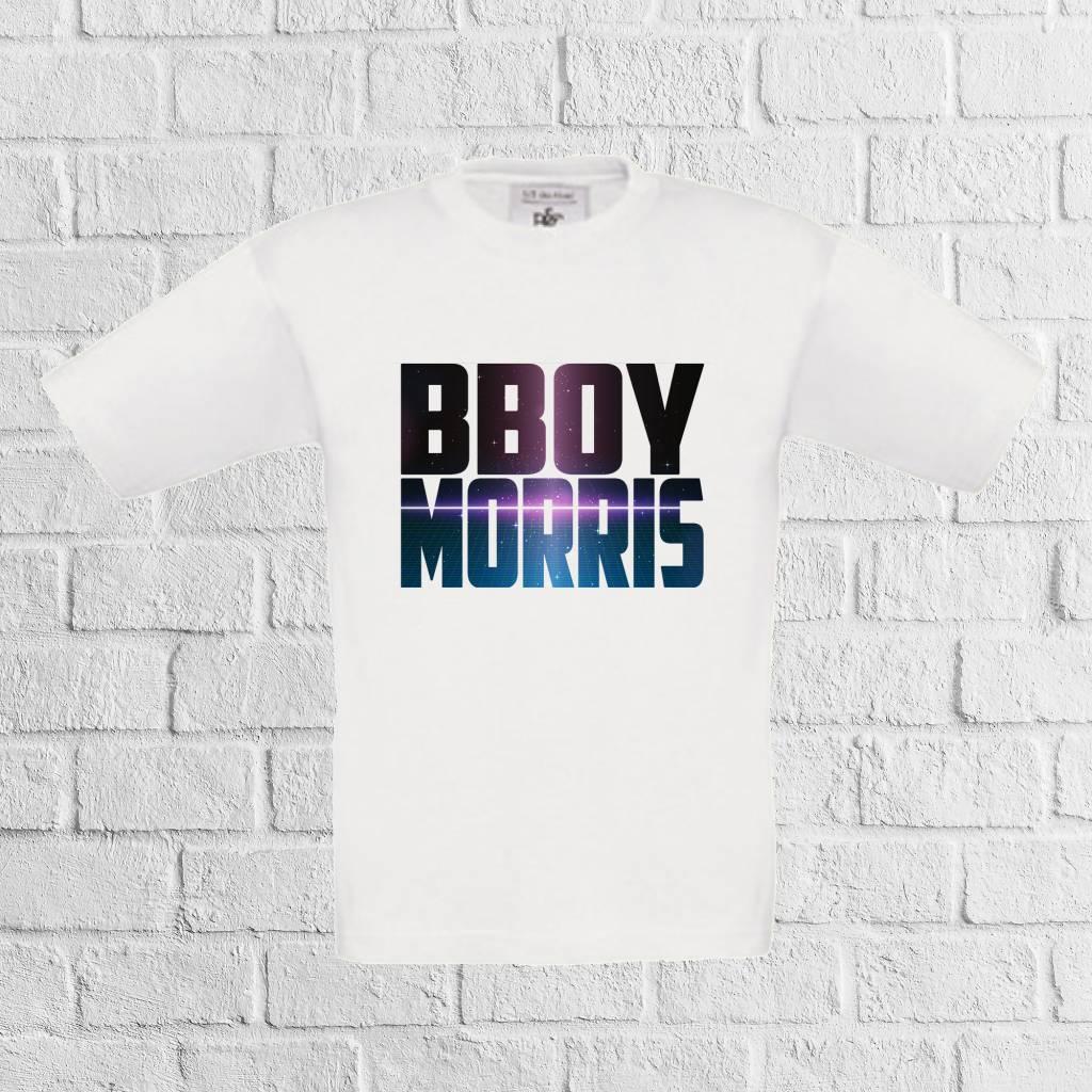 B-boy naam shirt- geen verzendkosten