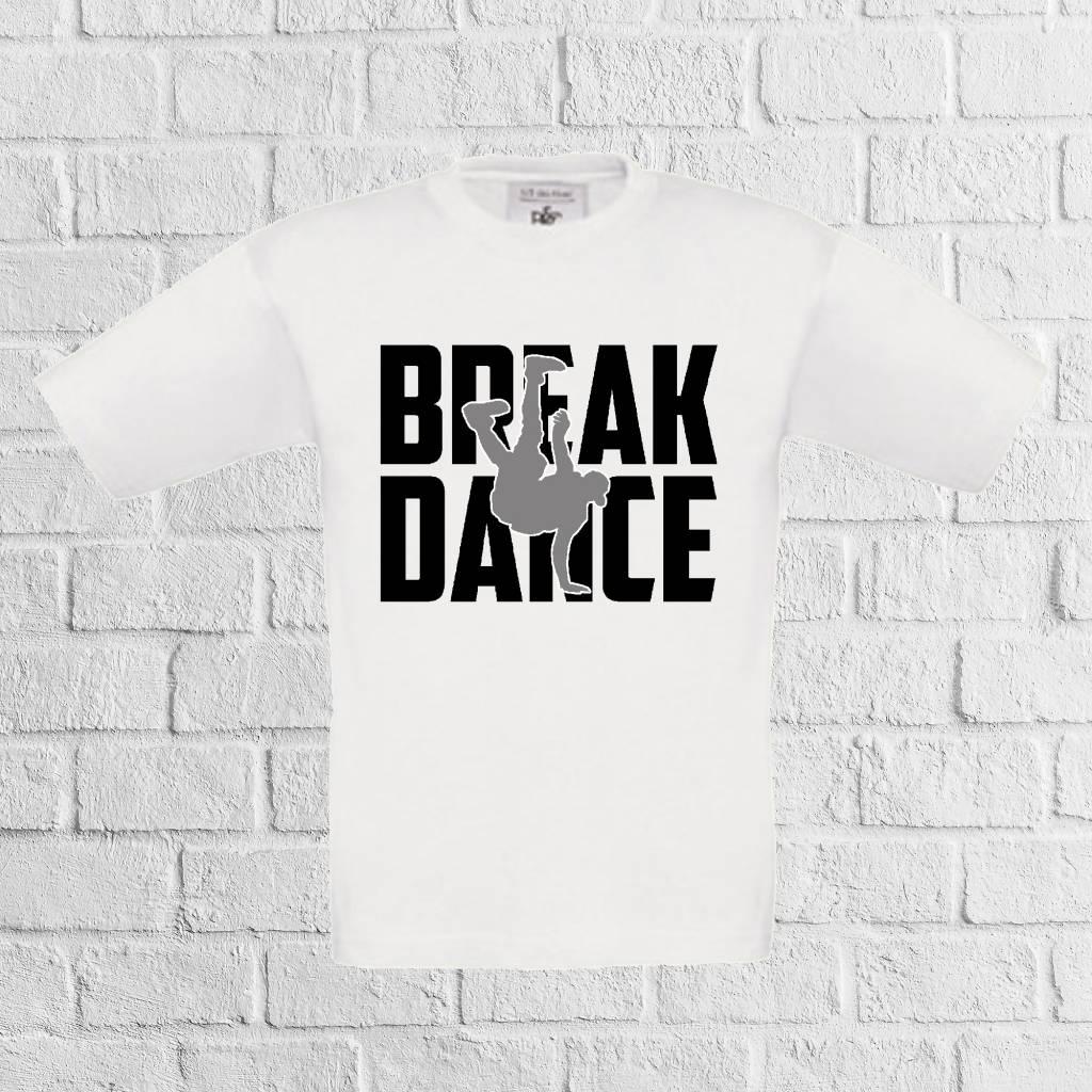 Breakdance t-shirt - geen verzendkosten