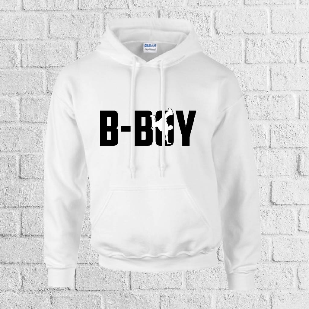 B-boy breakdance hoodie