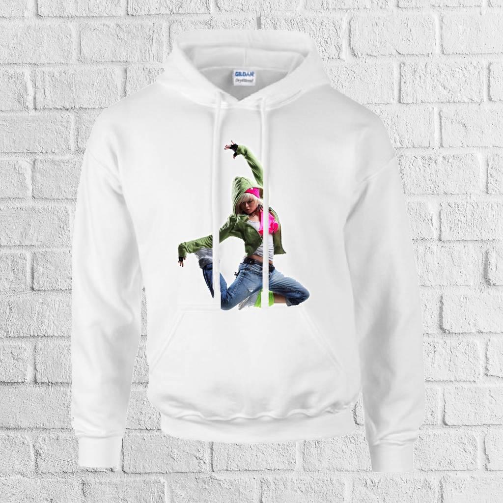 Hiphop dancer hoodie