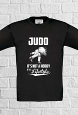Judo t-shirt - geen verzendkosten