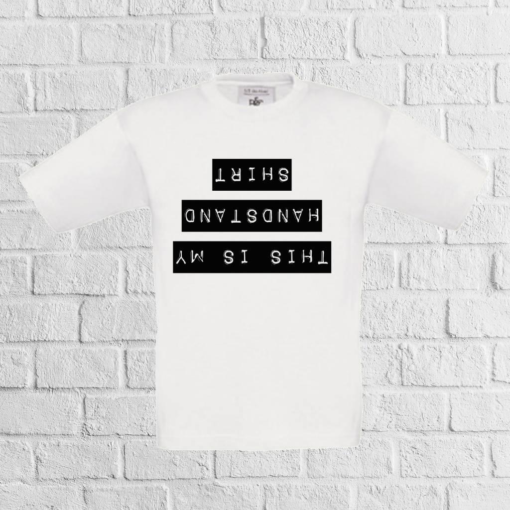Handstand t-shirt - geen verzendkosten