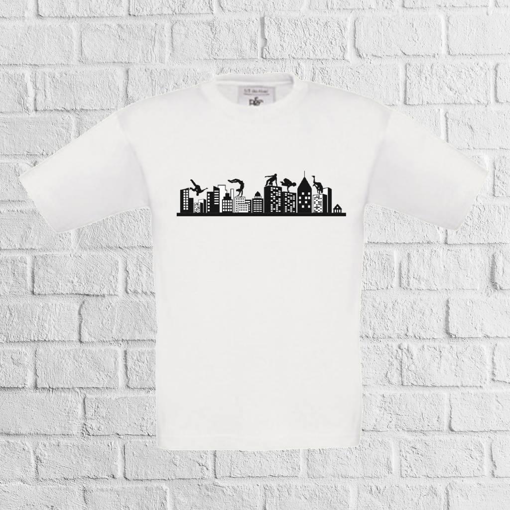 Freerun skyline t-shirt - geen verzendkosten