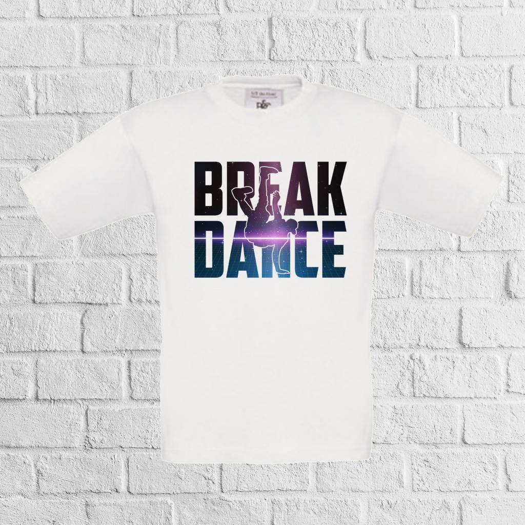 Breakdance shirt galaxy - geen verzendkosten