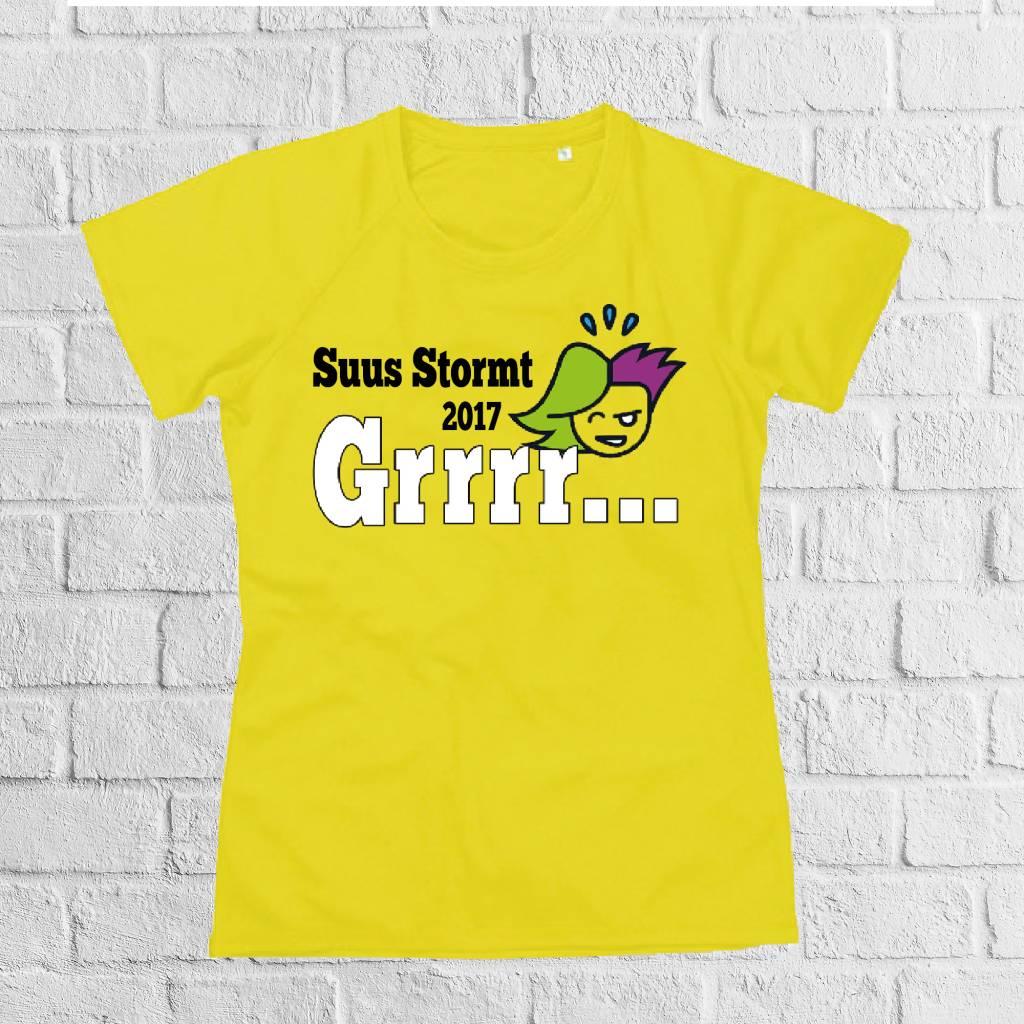 Venlo Stormt quick&dry t-shirt met naam - geen verzendkosten