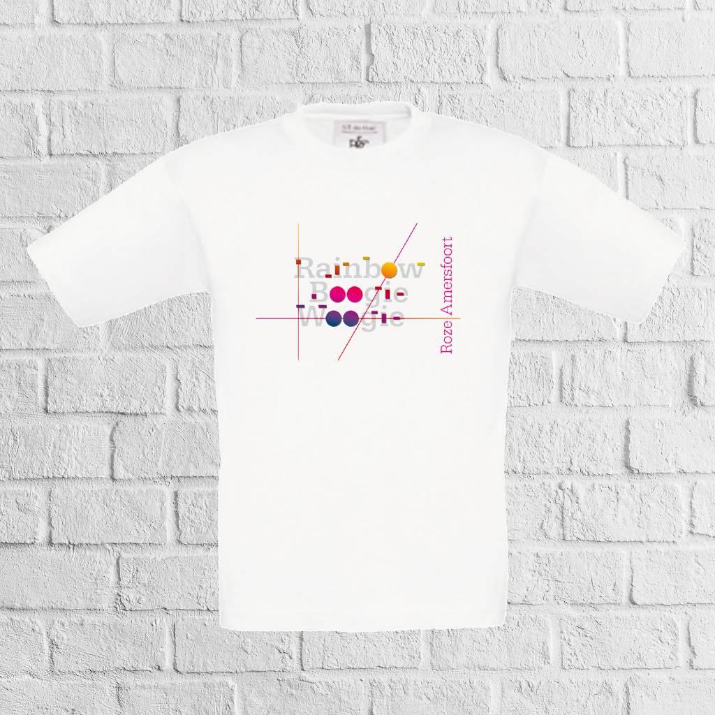 Rainbow Boogie Woogie t-shirt - geen verzendkosten
