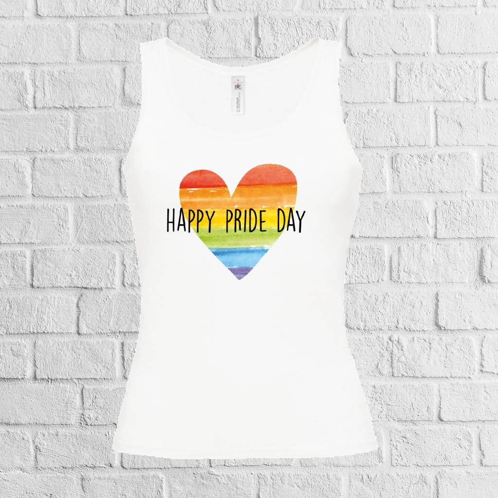 Happy pride day t-shirt t-shirt - geen verzendkosten