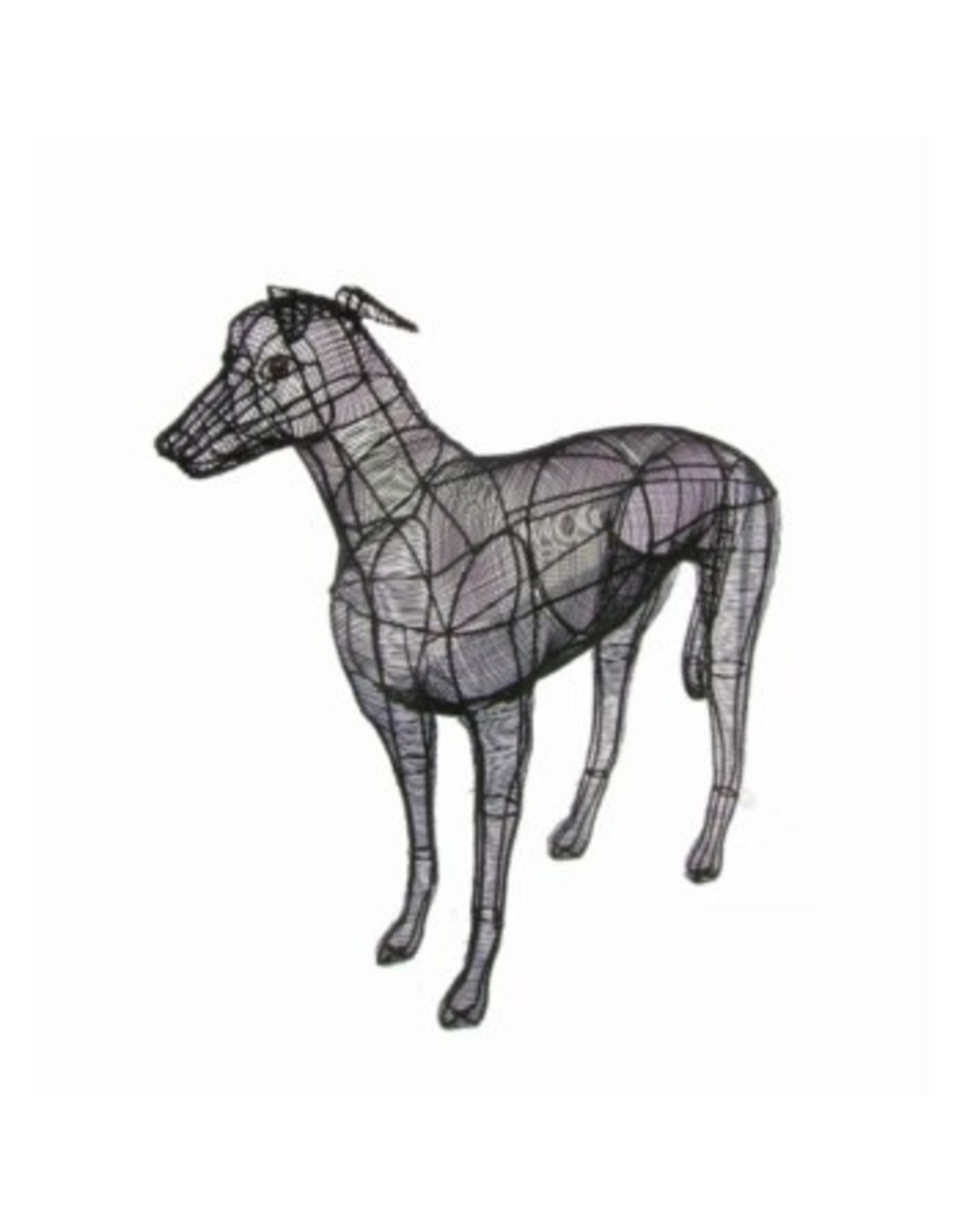 Artopya Dog Gray Wind Close Wire
