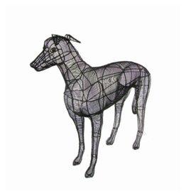 Artopya Dog Gray Wind Close Wire