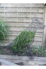 Artopya Topiary Dog German Shepherd Sitting