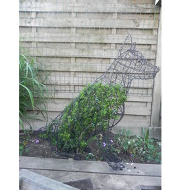 Artopya Topiary Dog German Shepherd Sitting