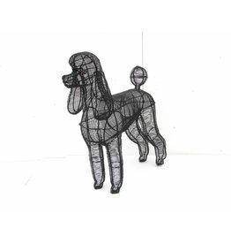 Artopya Dog Poodle Close Wire