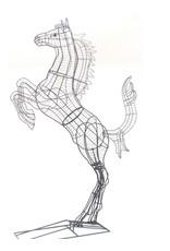 Artopya Paard Steigerend