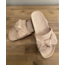 REBEL-C FAHION SLIPPERS BEIGE