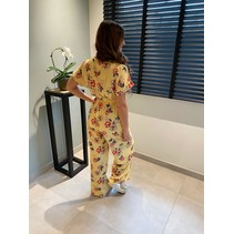 JUMPSUIT YELLOW FLOWER