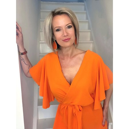 REBEL-C FASHION JURK IBIZA ORANGE