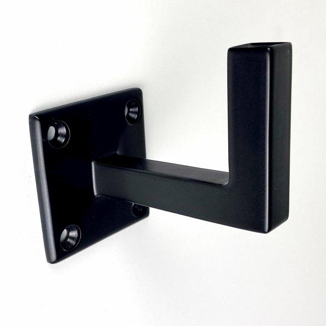 Zwarte leuningdrager Model I