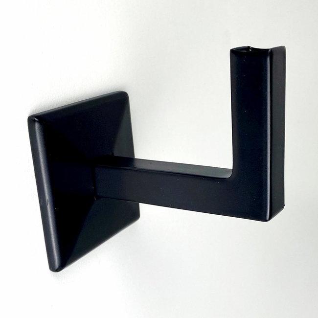 Zwarte leuningdrager Model L