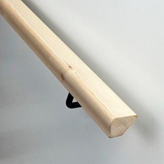 Houten trapleuning modern sleutelgat: Andere houtsoort
