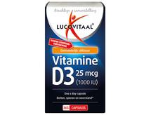 Lucovitaal Voedingssupplementen Vitamine D3 25mcg Capsules
