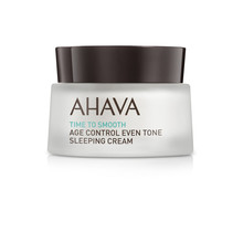 Ahava Time To Smooth Age Control Even Tone Sleeping Cream Crème 50ml