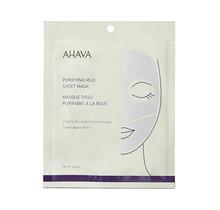 Ahava Time To Clear Purifying Mud Sheet Mask Masker 1Stuks