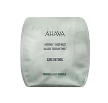 Ahava Safe Retinol Firming & Anti-Wrinkle Sheet Mask Masker Doffe Huid 1Stuks