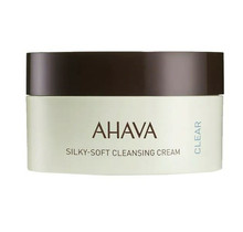 Ahava Time To Clear Silky-Soft Cleansing Cream Crème Droge Huid 100ml