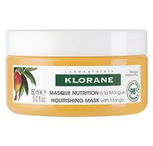 Klorane Haar Mangue Beurre de Mangue/Mangoboter Masker Droog/Beschadigd Haar 150ml