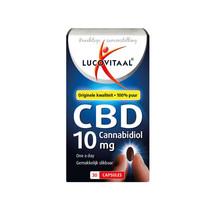 Lucovitaal Voedingssupplementen CBD 10mg Cannabidiol Capsules 30Capsules