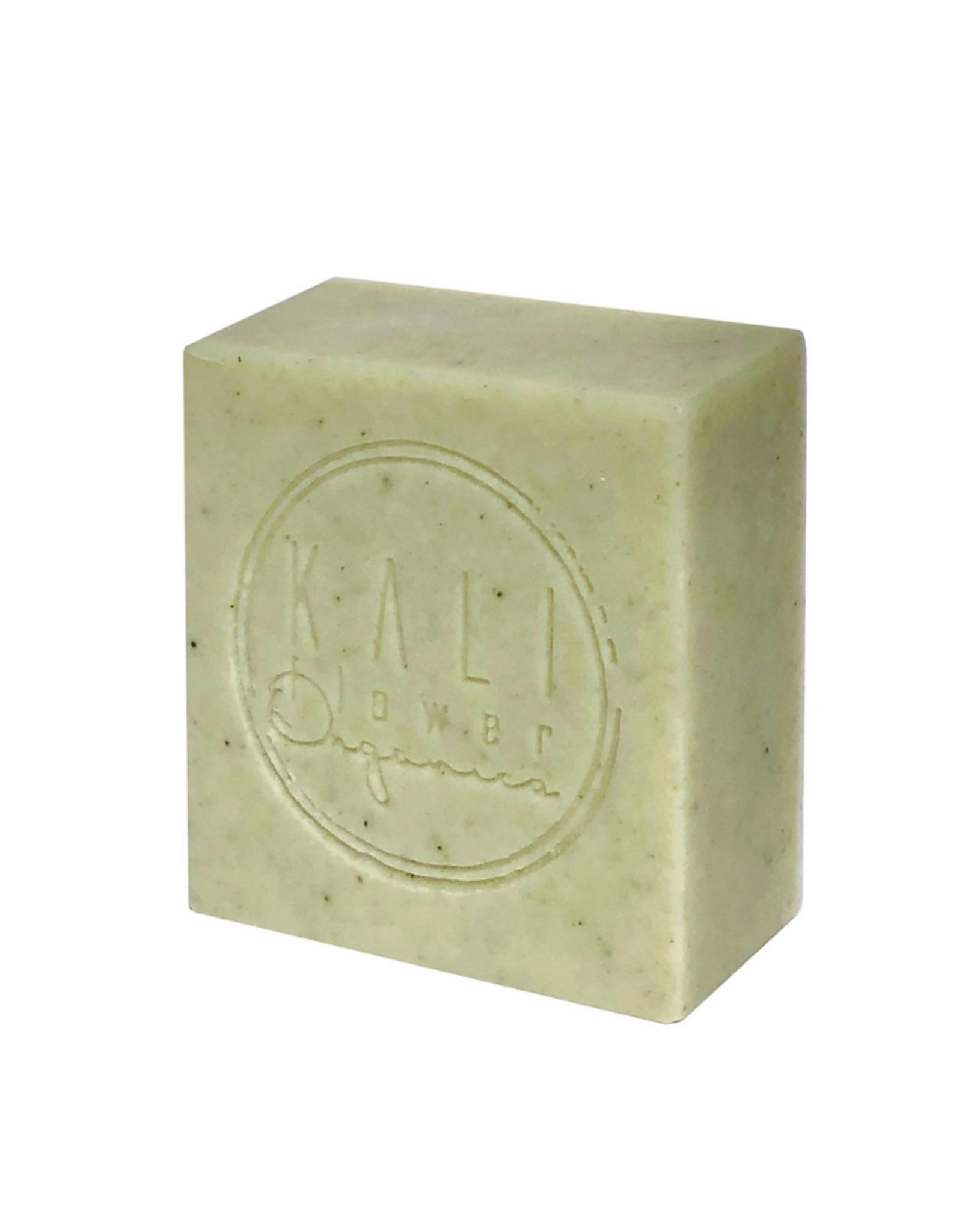 Kaliflower Organics Biologische handgemaakte zeep. Groene klei met citroengras