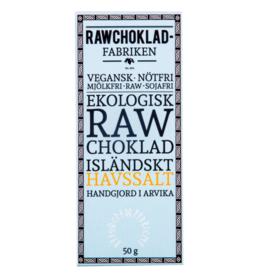 Rawchokladfabriken Rawchoklad | IJslands Zeezout