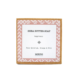 Mirins Copenhagen Shea Butter Soap | Happiness