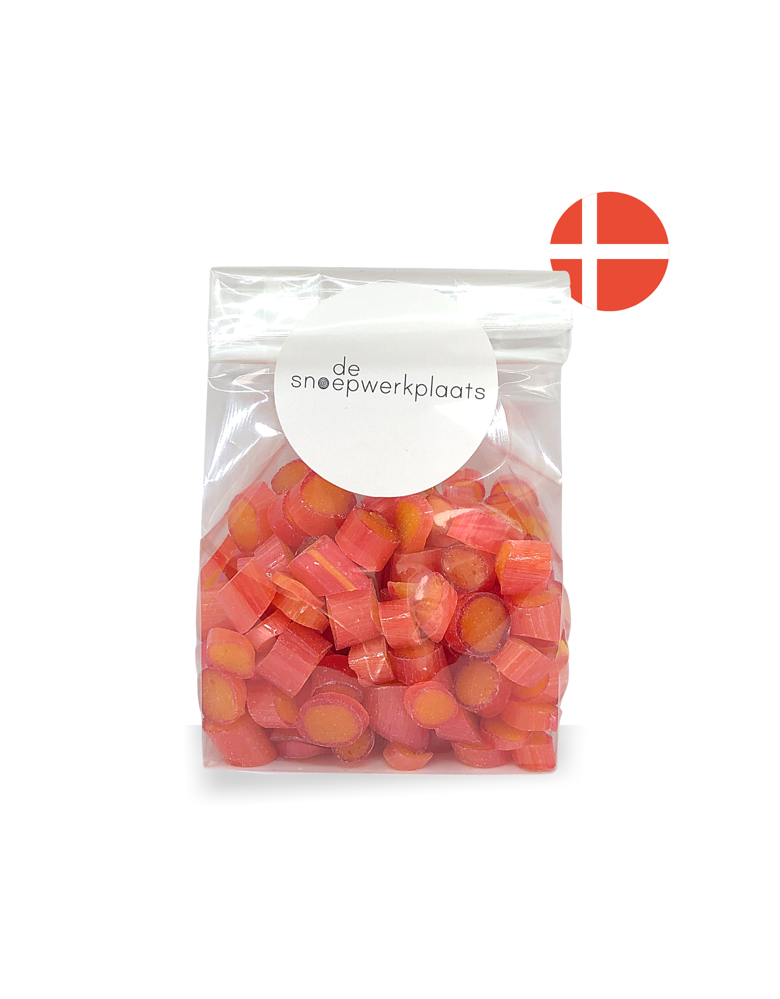 De Snoepwerkplaats Deense Snoepjes | Rabarber