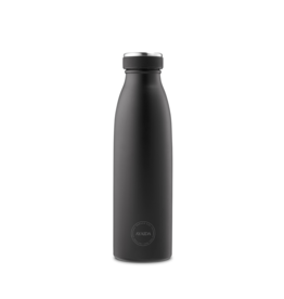 Aya & Ida Drinkfles | Matte Black 500ml