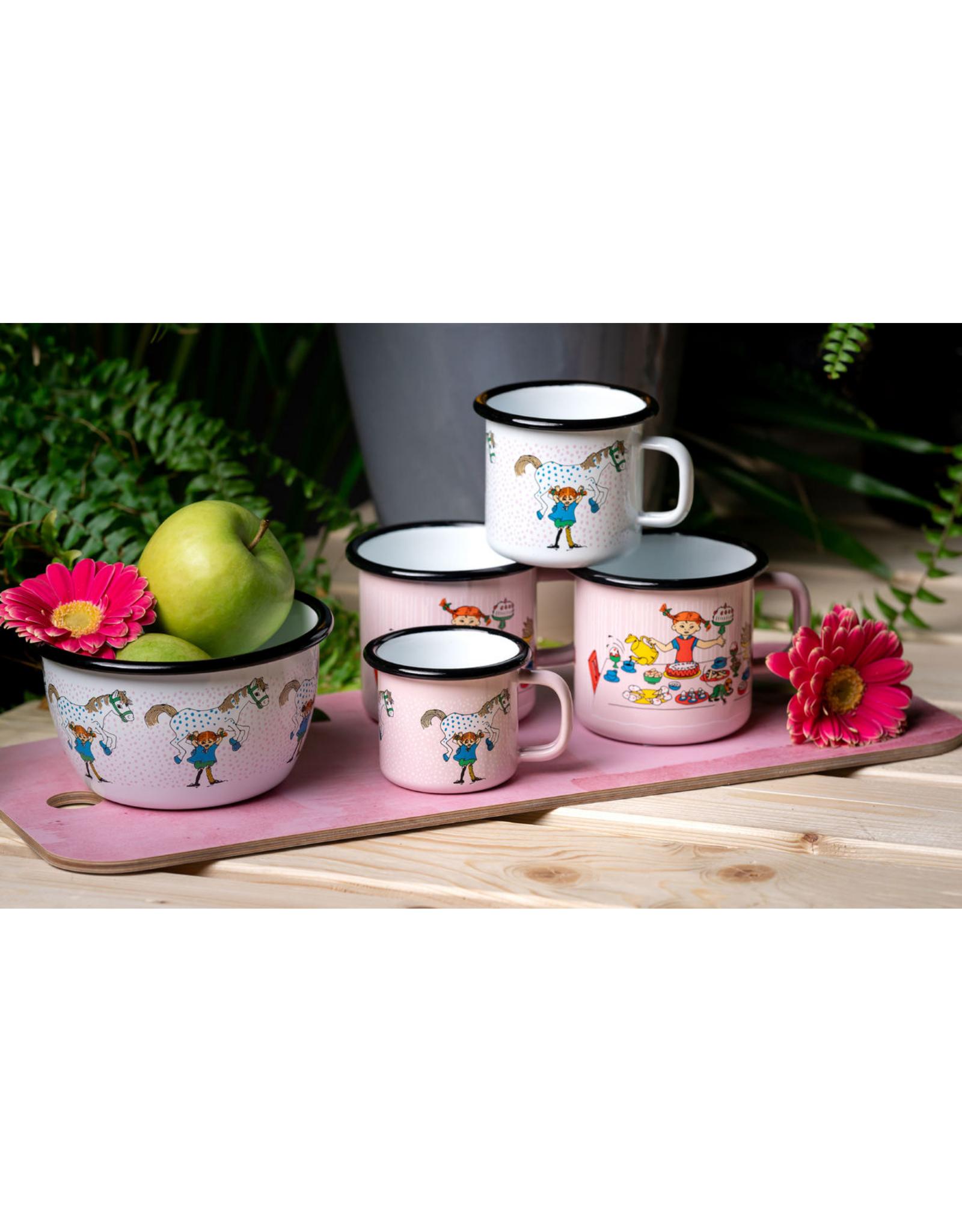 Muurla Koffiemok Emaille | Pippi & Paard 250ml