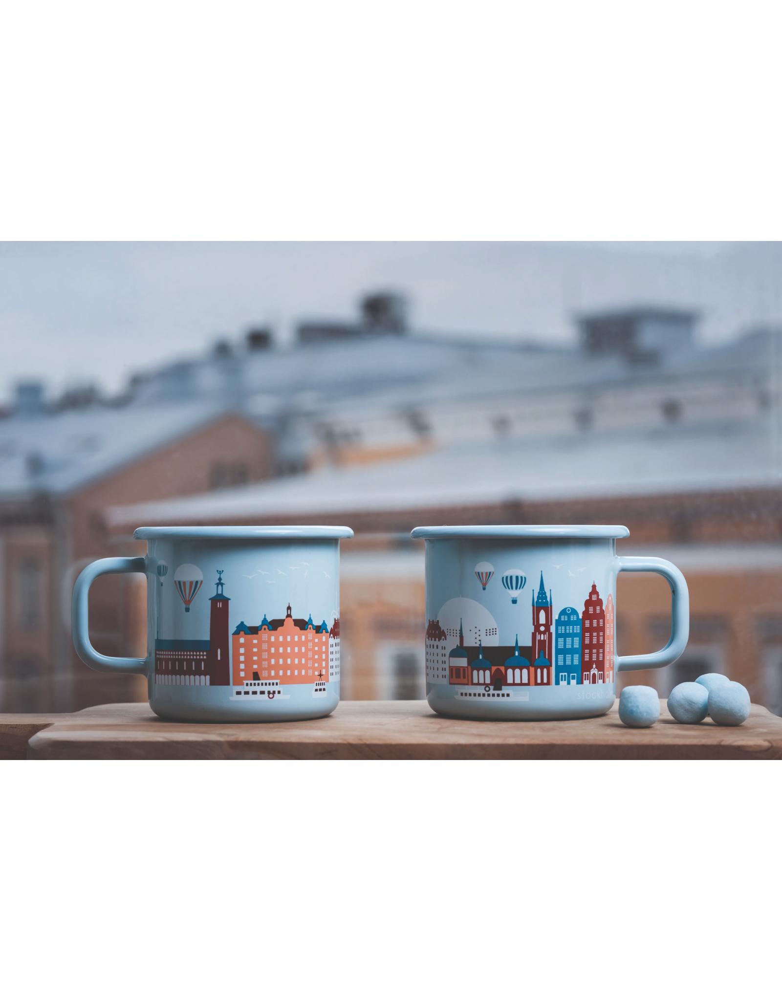 Muurla Mok Emaille | Stockholm 370ml