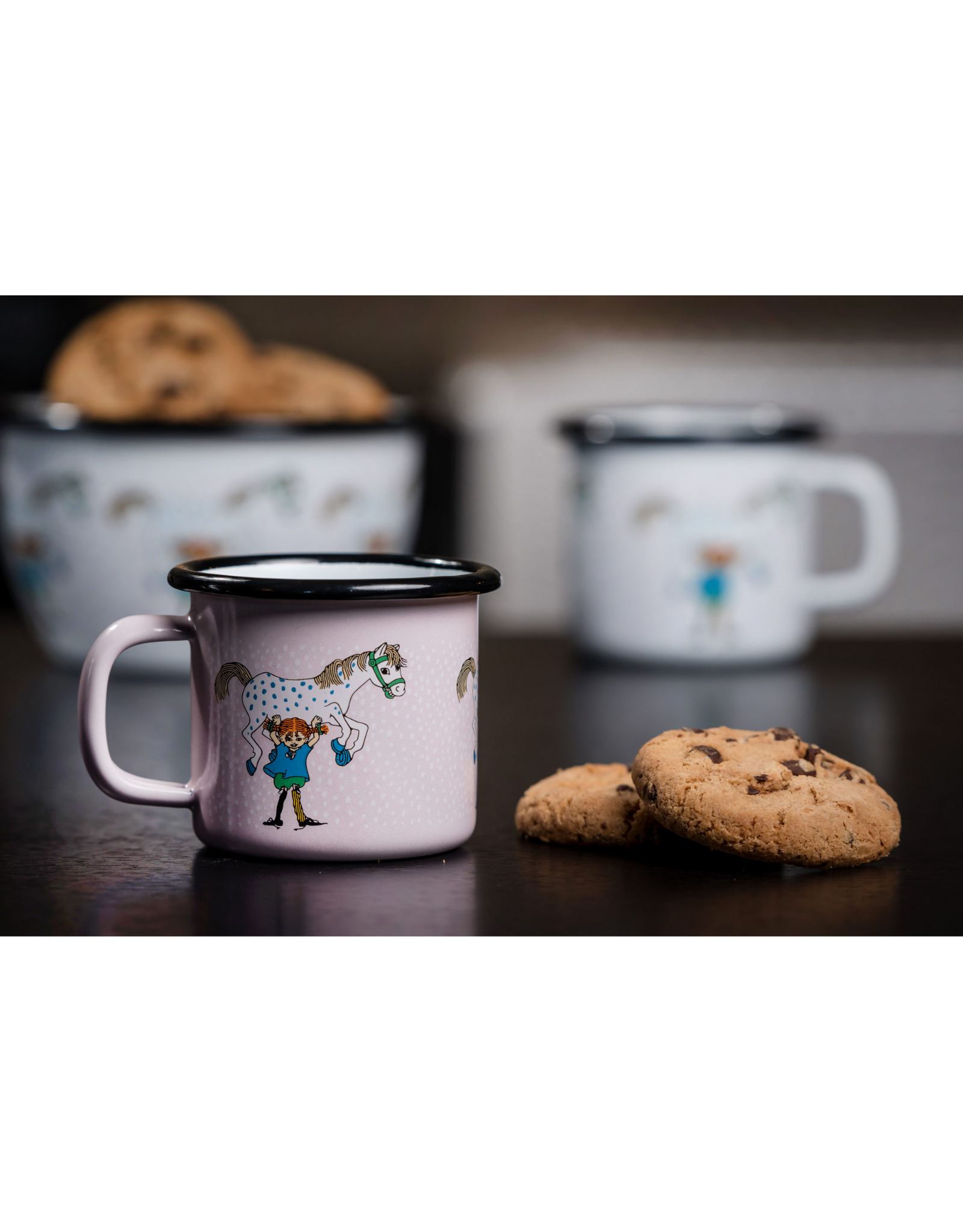 Muurla Espresso / Kindermok   Pippi & Paard