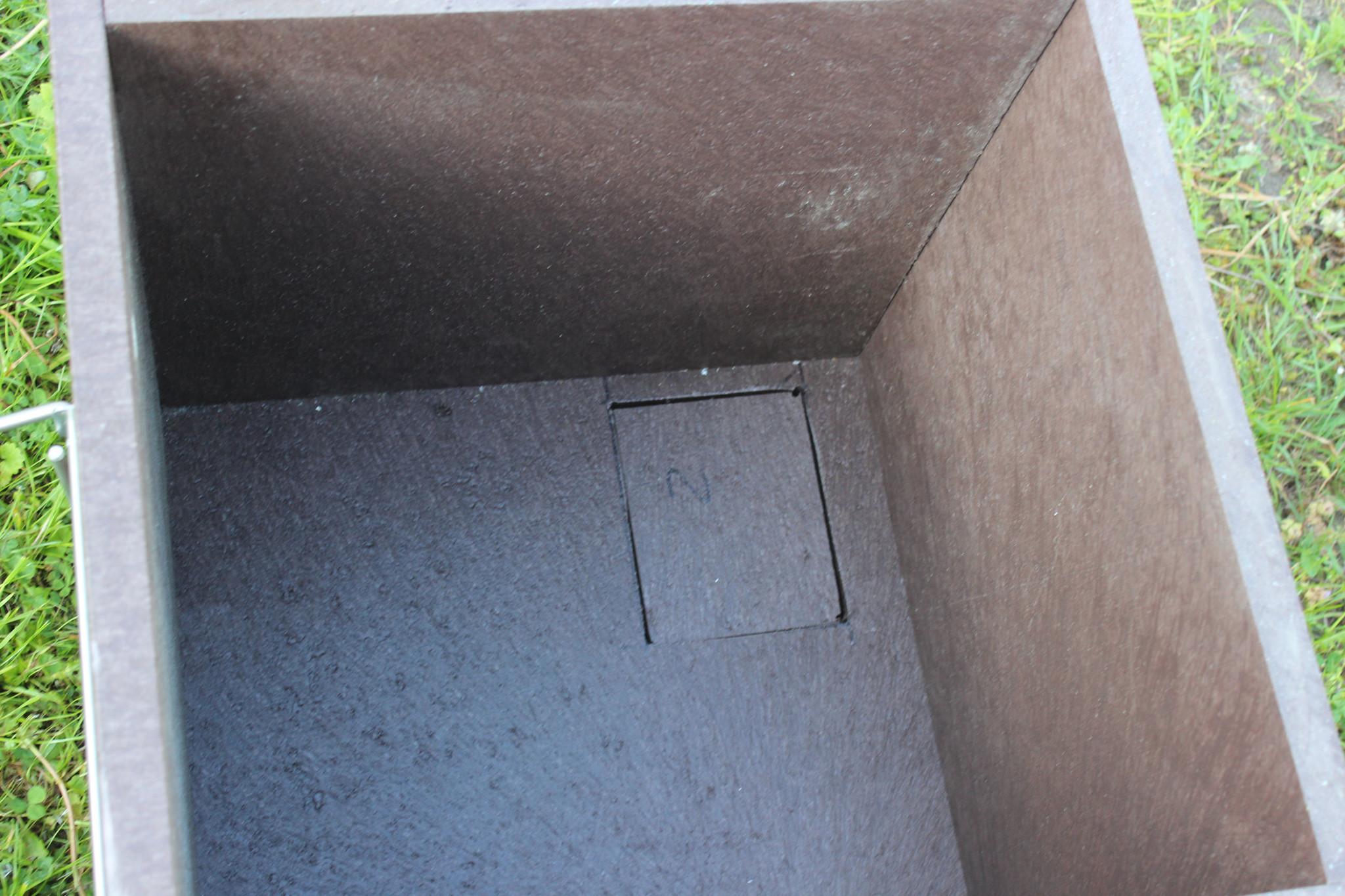 "Trapperprofi Marderbunker ""Trapper-Catch"" aus 25mm Recyclingkunststoff"