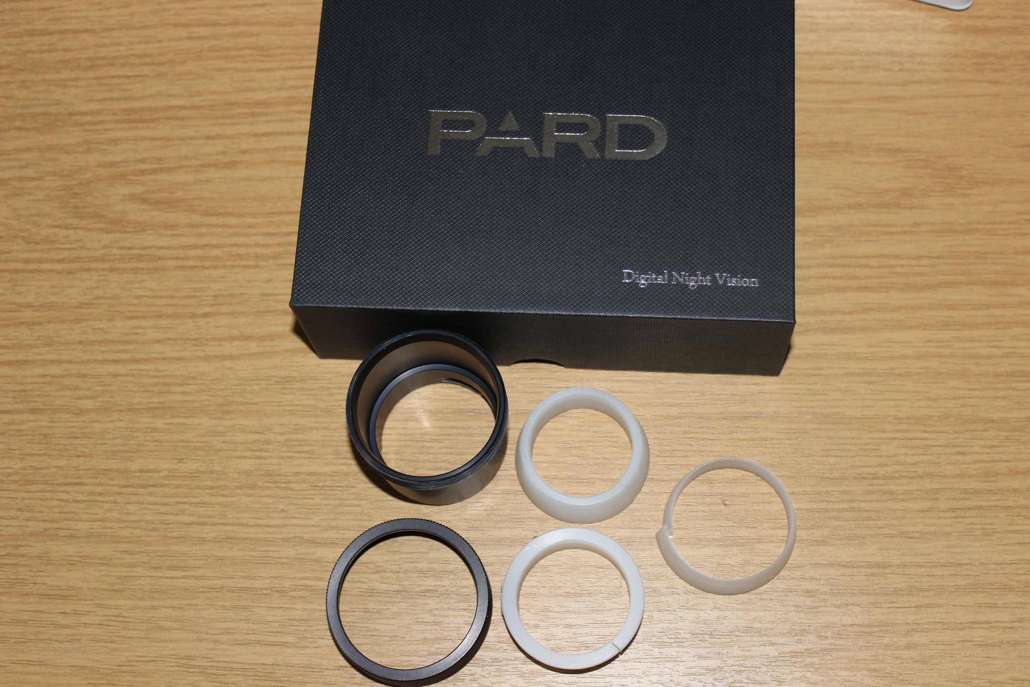 Universaladapter für die schnelle Montage von PARD NV 007a auf Okulare