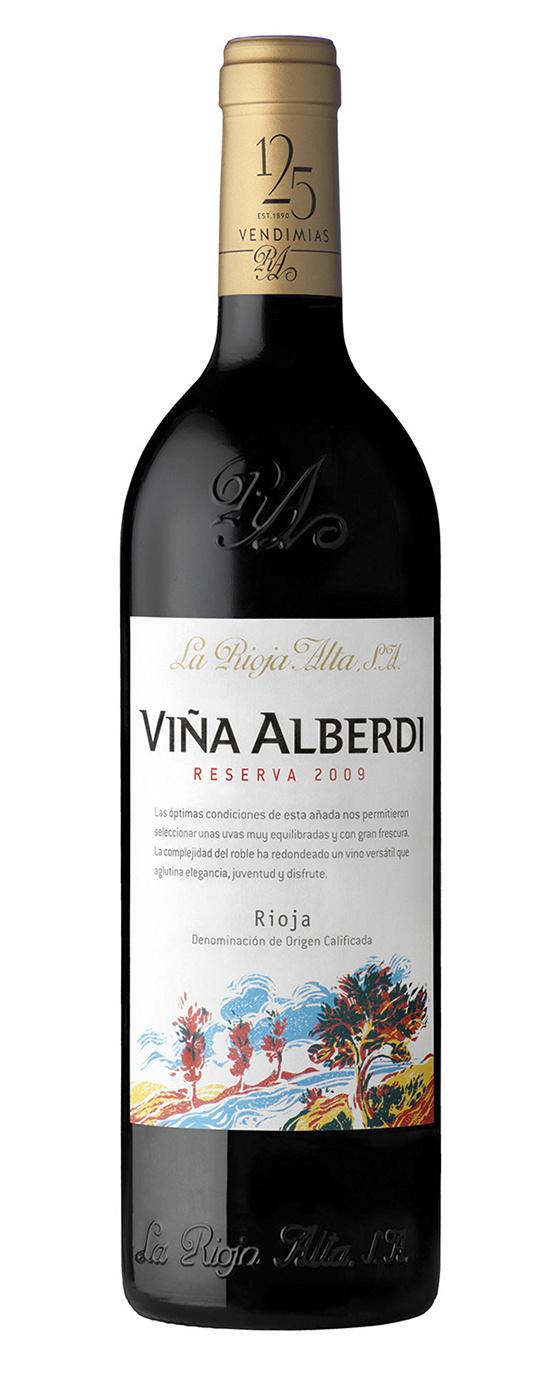 La Rioja Alta Reserva, Viña Alberdi 2014 - Demi (0,375L)-1