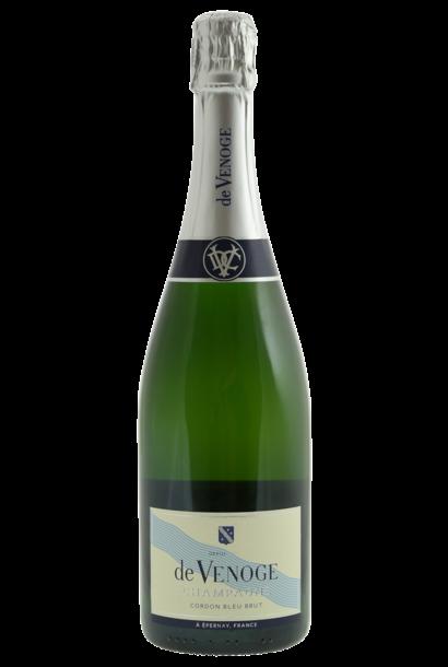 Champagne De Venoge Brut, Cordon Bleu N.V.