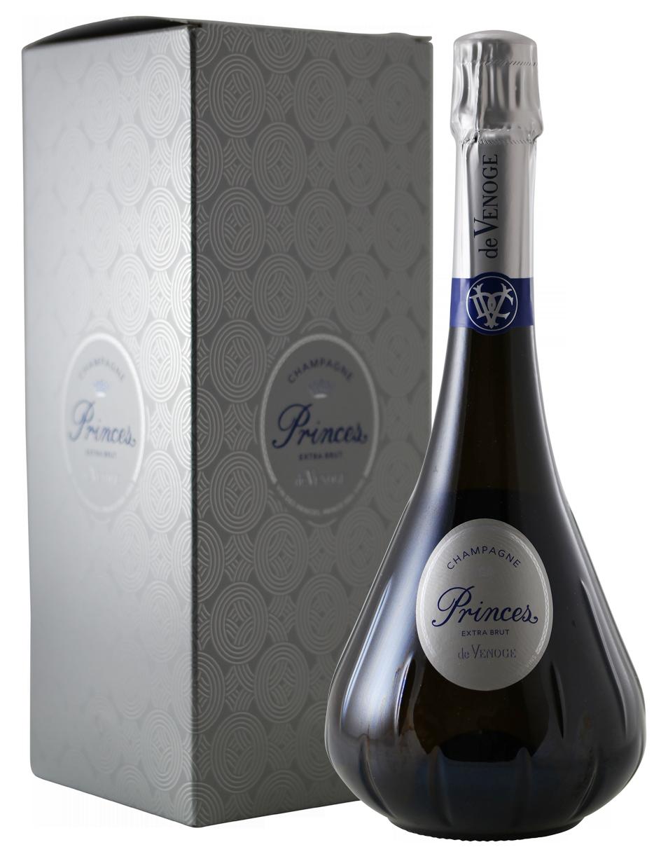 Champagne De Venoge Extra Brut, Princes N.V.-2