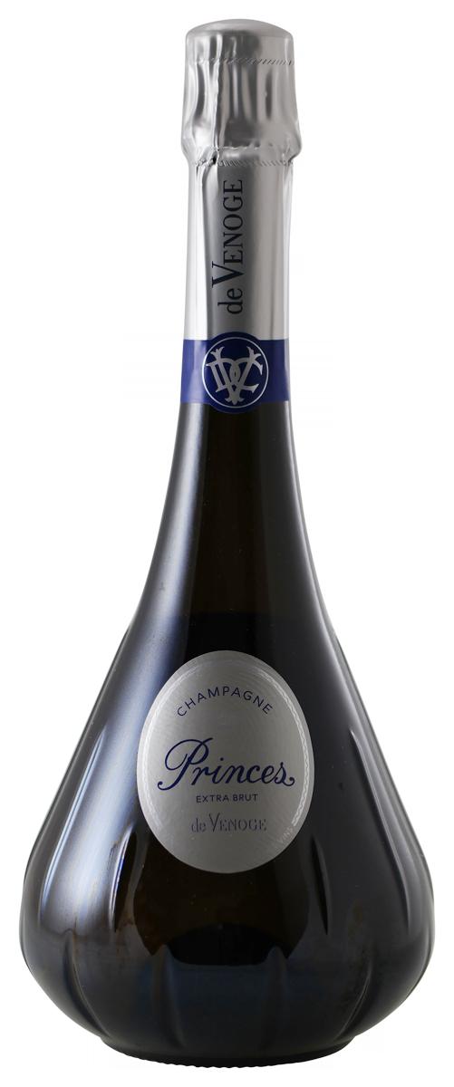 Champagne De Venoge Extra Brut, Princes N.V.-1