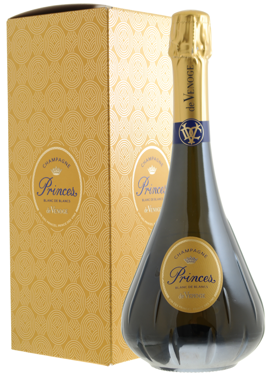 Champagne De Venoge Brut, Blanc de Blancs, Princes N.V.-2