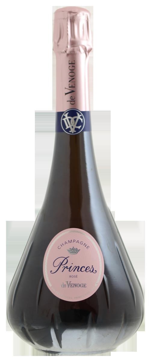 Champagne De Venoge Rose, Princes N.V.-1