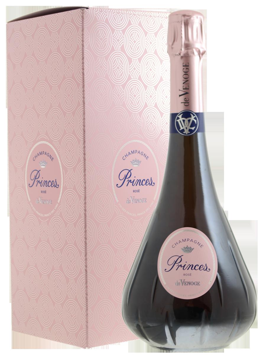 Champagne De Venoge Rose, Princes N.V.-2