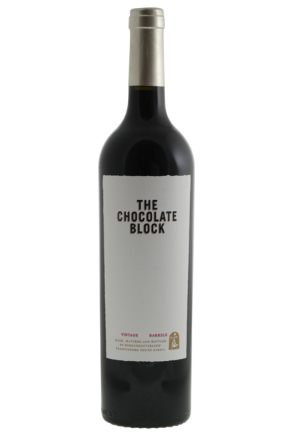 Boekenhoutskloof The Chocolate Block 2019