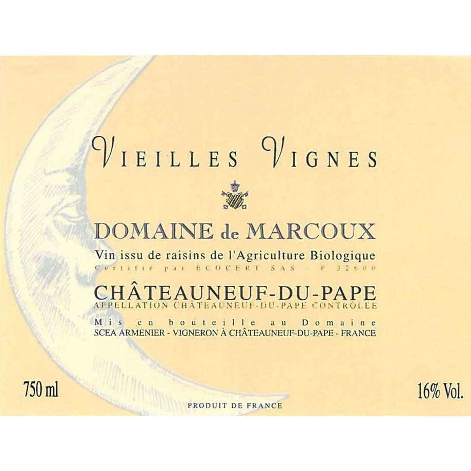 Domaine de Marcoux Châteauneuf-du-Pape Rouge, Vieilles Vignes 2016-2