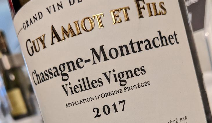 Domaine Guy Amiot et Fils Chassagne-Montrachet, Vieilles Vignes 2017-2
